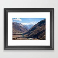 Perú Framed Art Print