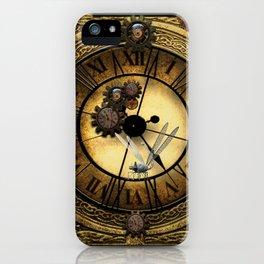Steampunk design iPhone Case
