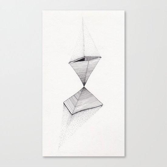 sand pyramids Canvas Print