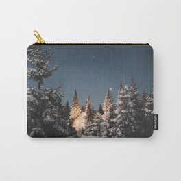 winter night Carry-All Pouch