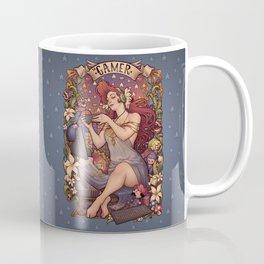 Gamer girl Nouveau Coffee Mug