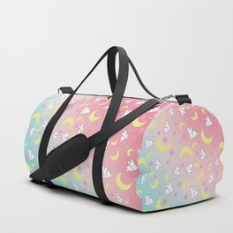 Sailor Moon Bunny's Pattern Duffle Bag
