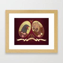 Henry and Anne Framed Art Print