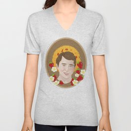 Saint Ned Unisex V-Neck