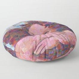 Sistine Cherub No. 2 Floor Pillow