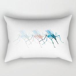 Mosquitoes. Rectangular Pillow