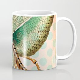 Polka Dot Grasshopper Coffee Mug