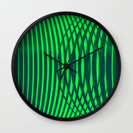 """Jungle"" geometric Wall Clock"