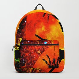 CAT SPIDER AND HARVEST MOON Backpack