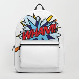 Comic Book Pop Art WHAM Backpack