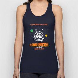 El Chango Espacial Grindhouse Poster Unisex Tank Top