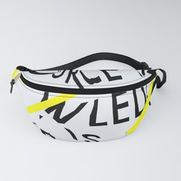 The only source of knowledge is experience. Albert Einstein Fanny Pack