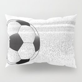 Moving Football Pillow Sham