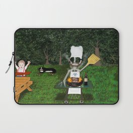 Corky the Grillman Laptop Sleeve