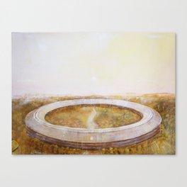 Apple Campus II Canvas Print