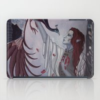 dragon age inquisition iPad Cases featuring Dragon Age: Dwell on the Past by tevinity