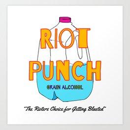 Philadelphia Riot Punch Art Print