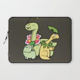 Pokémon - Number 152, 153 & 154 Laptop Sleeve