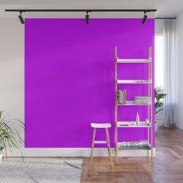 Neon Purple Wall Mural