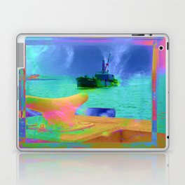 View of The Lady In Waiting Laptop & iPad Skin