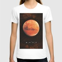 mars T-shirts featuring MARS by Alexander Pohl
