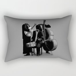 The Invisibles (On Grey) Rectangular Pillow