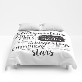 The Champagne & The Stars Comforters