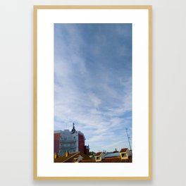 El mensajero (en color) Framed Art Print