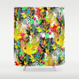 AltErEd tExtUrE Shower Curtain