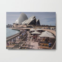 Sydney Landmark Metal Print
