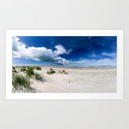 Grenen Beach Panorama Art Print