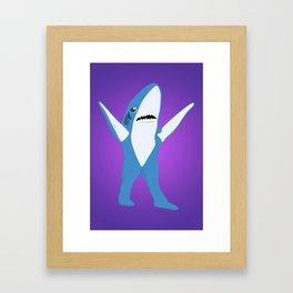 Left Shark Framed Art Print