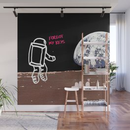Houston, we have a problem... Wall Mural