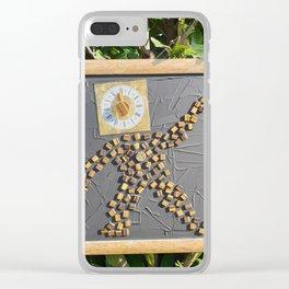 """""""5 vor 12"""" für die Menschheit / Kunsthaus-Lay Clear iPhone Case"""