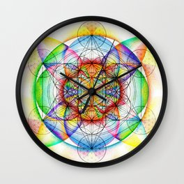 Sunrise - The Sacred Geometry Collection Wall Clock