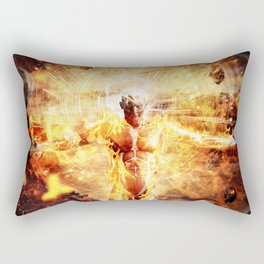 Ember. Rectangular Pillow