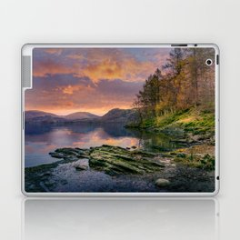 Fall on the Rocks Laptop & iPad Skin
