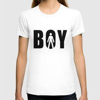 boy T-shirts featuring boy by Steffi Louis