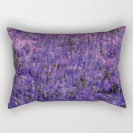 Pink Moss Rectangular Pillow