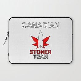 Canadian Stoner Team Weed Laptop Sleeve