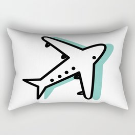 In the air #1 Rectangular Pillow