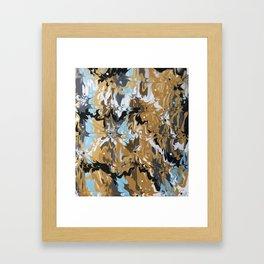 Golden Calypso Framed Art Print