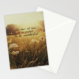 Grainy Love-w/text Stationery Cards