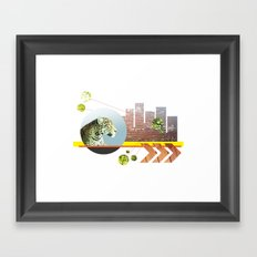 Urban Jungle #3 Framed Art Print