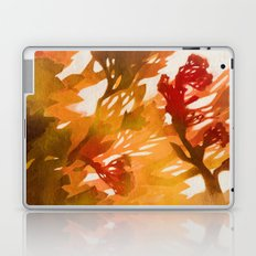Morning Blossoms 2 - Red Variation Laptop & iPad Skin