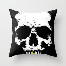 Skullboy Logo Throw Pillow