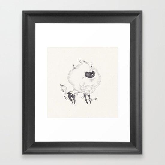 mr.mousse Framed Art Print