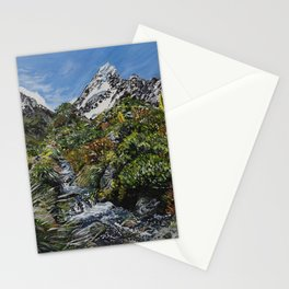 Mt Cook, New Zealand Stationery Cards