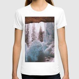 Hanging Lake Spouting Rock at Glenwood Canyon Glenwood Spring Area Colorado. T-shirt