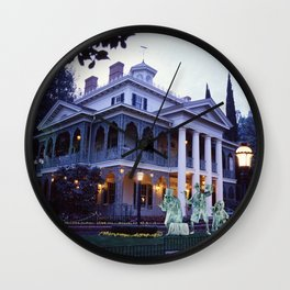 Haunted Mansion and Hitchhikers Wall Clock
